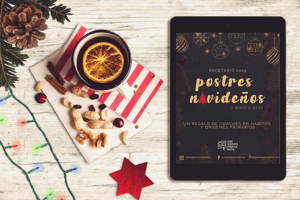RECETARIO POSTRES NAVIDEÑOS 2019