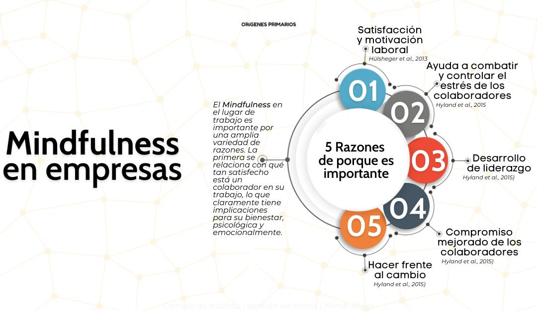 Mindfulness en empresas: 5 Razones de importancia