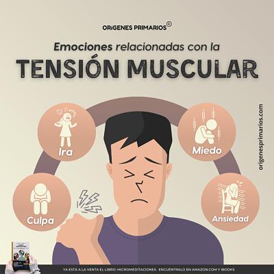 Emociones relacionadas con la tensión muscular y cómo comenzar a solucionarlo